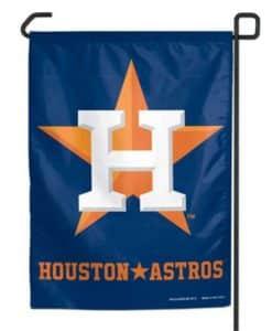 """Houston Astros 11""""x15"""" Garden Flag"""