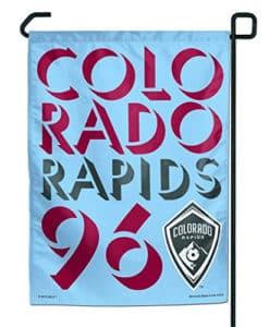 """Colorado Rapids 11""""x15"""" Garden Flag"""