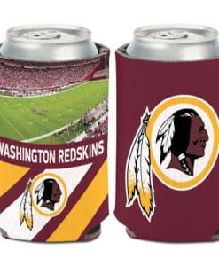 Washington Redskins 12 oz Football Field Maroon Can Koozie Holder