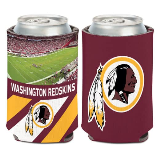 Washington Redskins 12 oz Football Field Maroon Can Koozie Holder