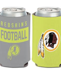 Washington Redskins 12 oz Neon Can Koozie Holder