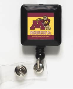 Minnesota Golden Gophers Retractable Badge Holder