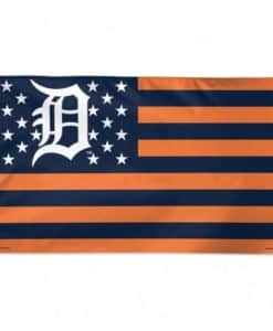 Detroit Tigers 3'x5' Patriotic Flag