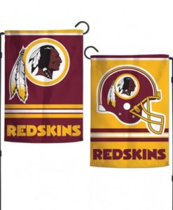"Washington Redskins 12.5""x18"" 2-Sided Garden Flag"