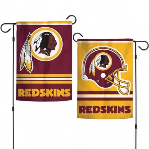"Washington Redskins 12.5""x18"" 2-Sided Garden Flag"