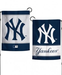 New York Yankees 12.5″x18″ 2 Sided Navy Garden Flag