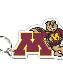 Minnesota Golden Gophers Premium Acrylic Key Ring