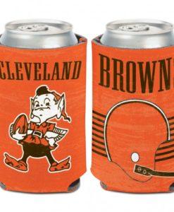 Cleveland Browns Retro 12 oz Orange Can Koozie Holder