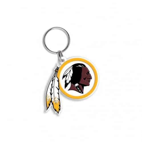 Washington Redskins Flex Keychain Key Ring