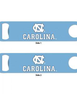 North Carolina Tar Heels Blue Metal Bottle Opener 2-Sided