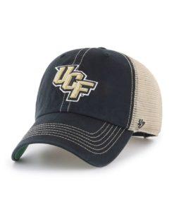 Central Florida Knights 47 Brand Trawler Black Clean Up Mesh Snapback Hat