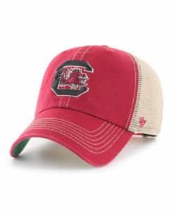South Carolina Gamecocks 47 Brand Trawler Red Clean Up Mesh Snapback Hat