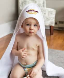 Washington Redskins All Pro White Baby Hooded Towel
