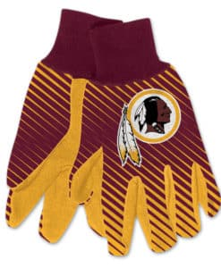 Washington Redskins Two Tone Gloves - Adult Size