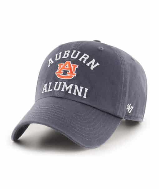 Auburn Tigers 47 Brand Alumni Vintage Navy Clean Up Adjustable Hat