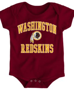 Washington Redskins Baby Burgundy Creeper