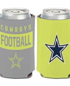 Dallas Cowboys Neon 12oz Can Koozie Holder