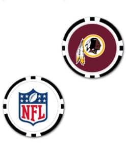 Washington Redskins Golf Chip Oversized Ball Marker