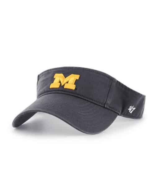Michigan Wolverines 47 Brand Vintage Navy Clean Up Adjustable Visor