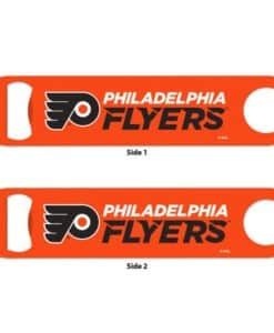 Philadelphia Flyers Orange Metal Bottle Opener 2-Sided