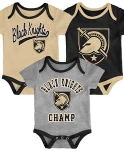 Army Black Knights Baby 3 Piece Champ Onesie Creeper Set