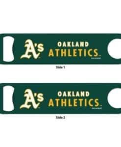 Oakland Athletics Green Metal Bottle Opener 2-Sided