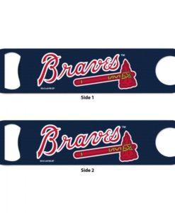 Atlanta Braves Navy Metal Bottle Opener 2-Sided