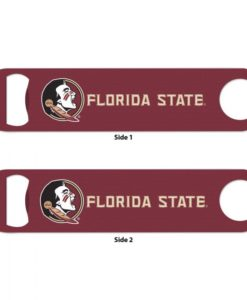 Florida State Seminoles Maroon Metal Bottle Opener 2-Sided