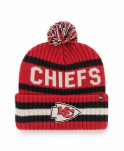 Kansas City Chiefs 47 Brand Bering Red Cuff Knit Hat