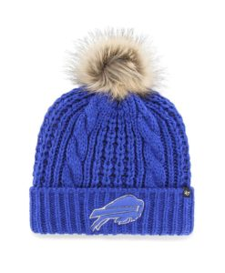Buffalo Bills Women's 47 Brand Blue Meeko Cuff Knit Hat