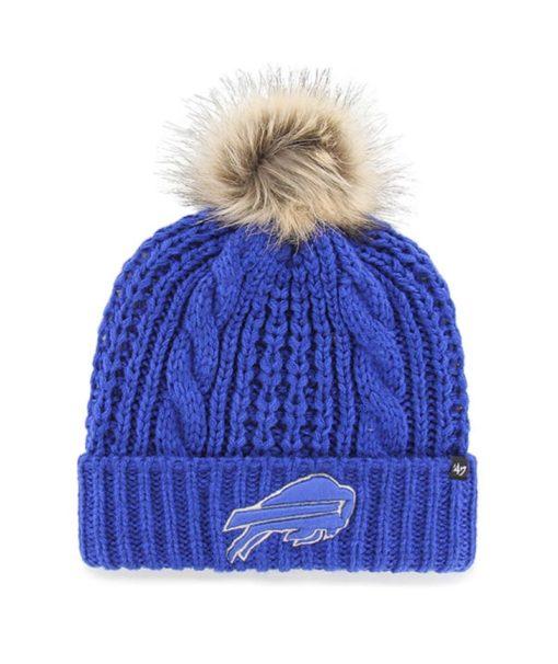 Buffalo Bills Women's 47 Brand Blue Meeko Cuff Knit Hat