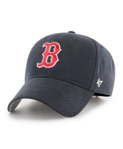 Boston Red Sox TODDLER Baby Boys 47 Brand Navy MVP Adjustable Hat