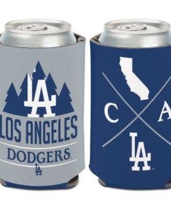 Los Angeles Dodgers 12 oz Blue Gray Hipster Can Cooler Holder