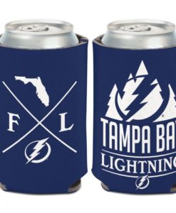 Tampa Bay Lightning 12 oz Blue Hipster Can Cooler Holder