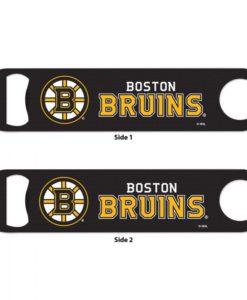 Boston Bruins Black Metal Bottle Opener 2-Sided