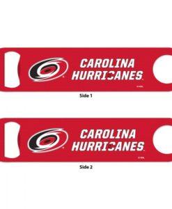 Carolina Hurricanes Red Metal Bottle Opener 2-Sided