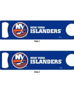 New York Islanders Blue Metal Bottle Opener 2-Sided