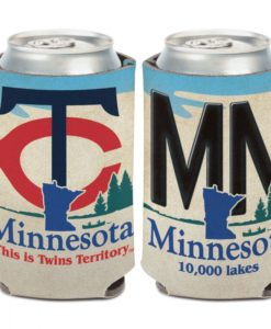 Minnesota Twins 12 oz License Plate Can Cooler Holder
