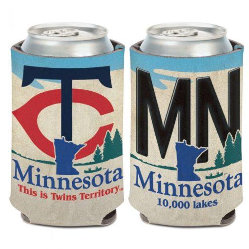 Minnesota Twins 12 oz License Plate Can Cooler Holder