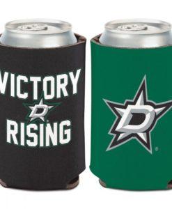 Dallas Stars 12 oz Green Slogan Can Cooler Holder