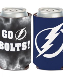 Tampa Bay Lightning 12 oz Blue Slogan Can Cooler Holder