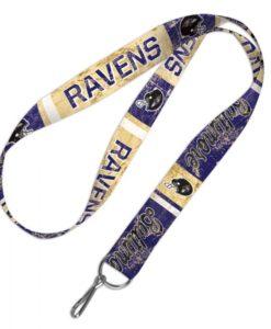 Baltimore Ravens Retro Lanyard