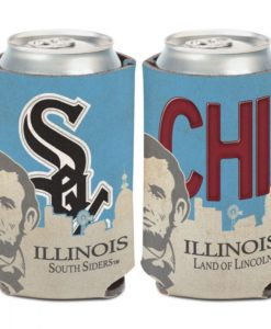 Chicago White Sox 12 oz State Plate Can Cooler Holder