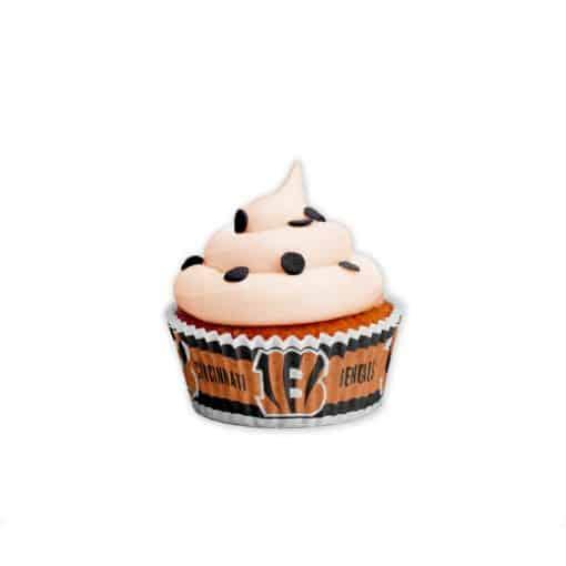Cincinnati Bengals Baking Cups Large 50 Pack