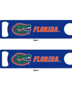 Florida Gators Blue Metal Bottle Opener 2-Sided