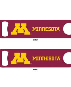 Minnesota Golden Gophers Maroon Metal Bottle Opener 2-Sided