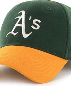 Oakland Athletics INFANT Baby 47 Brand Green MVP Adjustable Hat