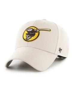 San Diego Padres 47 Brand Classic Bone MVP Adjustable Hat