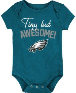 Philadelphia Eagles Baby Midnight Green Onesie Creeper