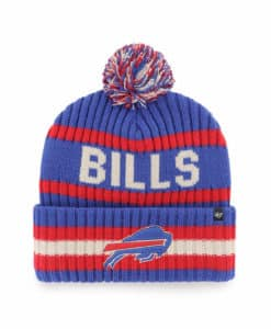 Buffalo Bills 47 Brand Sonic Blue Bering Cuff Knit Hat